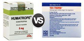 Tev-Tropin vs humatrope